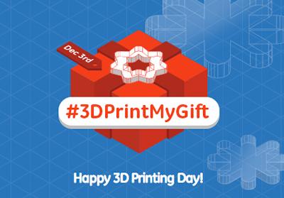 #3DPrintMyGift - 3D Printing Day 2013 - GE