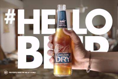 Carlton Dry #HELLOBEER