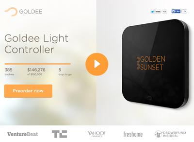 Goldee - Smart Light Controller