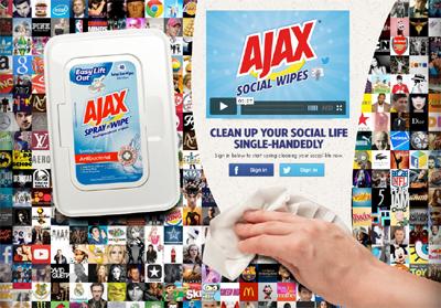 Ajax Social Wipes