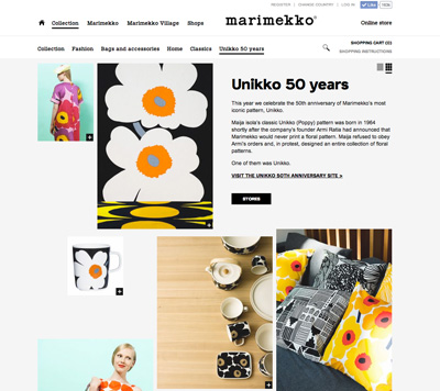 Unikko 50th Anniversary