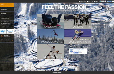 FEEL THE PASSION | Panasonic