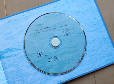 ミナ・ペルホネン シーズンカタログ「紋黄蝶」2014→spring/summer collection