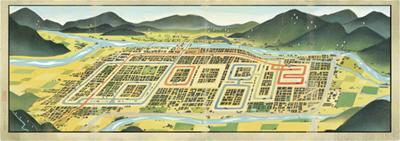 Google 吉田初三郎生誕130年で鳥瞰図のロゴに!