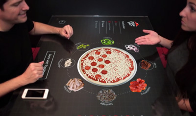 Pizza Hut + Chaotic Moon Studios Interactive Concept Table
