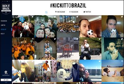 Kick it to Brazil