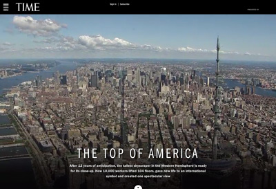 1 World Trade Center: TIME's View From The Top Of NYC - TIME