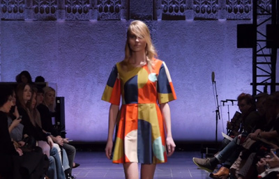 Marimekko Autumn/Winter 2014 Fashion Show at Helsinki Central Railway Station