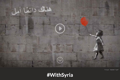 #WithSyria