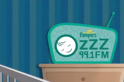 Pampers ZZZ Radio