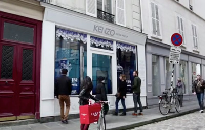 KENZO 'No Fish No Nothing' Digital Pop-Up
