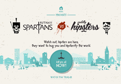 Spartans vs Hipsters