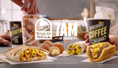 Guess Who Loves Taco Bell's New Breakfast
