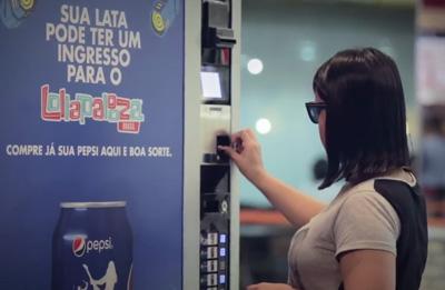 Promoção Pepsi Ingresso na Lata