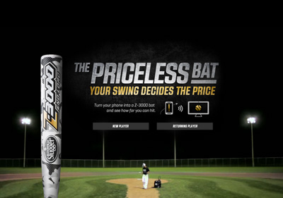 The Priceless Bat | Louisville Slugger