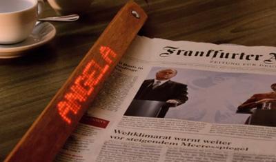 The Digital Newspaper Holder