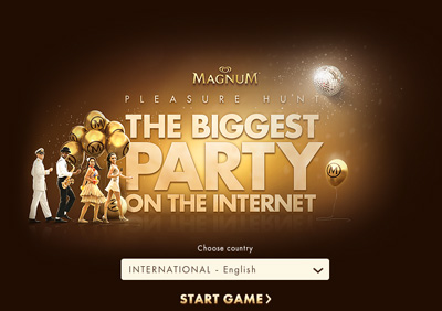 Magnum Pleasure Hunt - The Biggest Party on the Internet