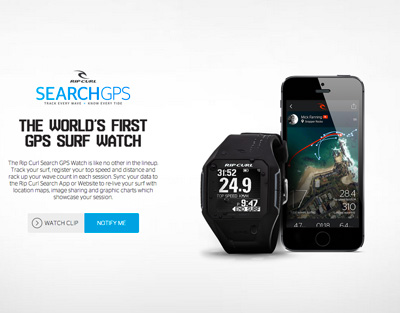 Search GPS by Rip Curl