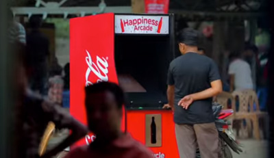 Coca-Cola Happiness Arcade