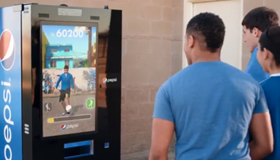 #FutbolNow Skills Challenge -- Play the Pepsi Interactive Vending Machine