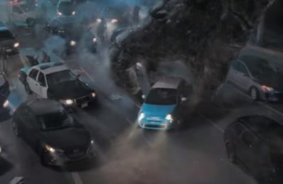 Por que o Godzilla só come carros Fiat?