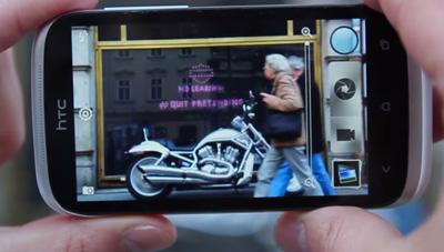 Harley Davidson Photobomb