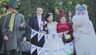 Fairytale wedding with Moomins | Finnair