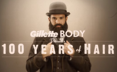 100 Years of Hair | Gillette BODY Razor