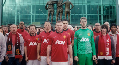 The History of the Manchester United Shirt - ChevroletFC