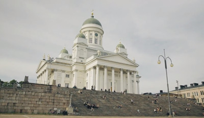 Helsinki - Finnish capital with midnight sun| Finnair