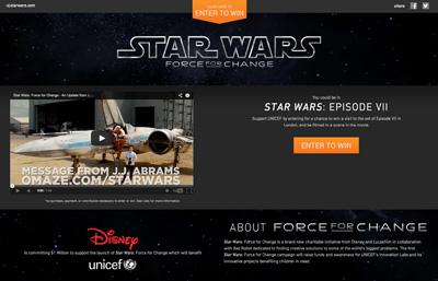 tar Wars: Force for Change – Episode VII Initiative