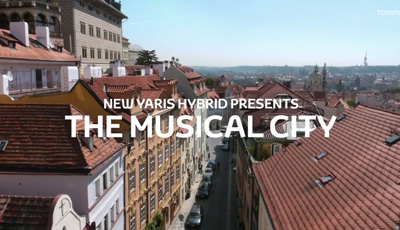 New Toyota Yaris Hybrid | The Musical City
