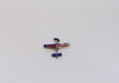 Red Bull plane wrapper