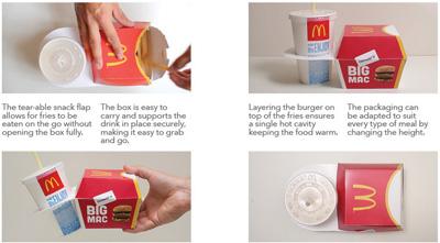 McDonald's Big Mac Packaging Redesign
