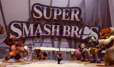 Super Smash Bros. - Mario Jumps into Battle! (Wii U & Nintendo 3DS).