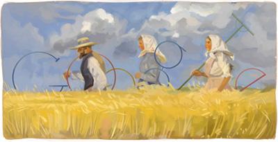 Google デンマークの画家アンナ・アンカー生誕155周年記念ロゴに!