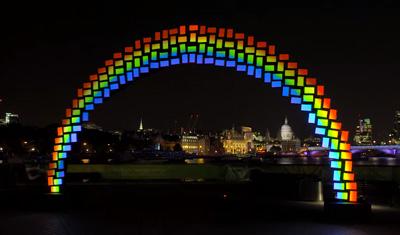 Look! It's a Midnight Rainbow!