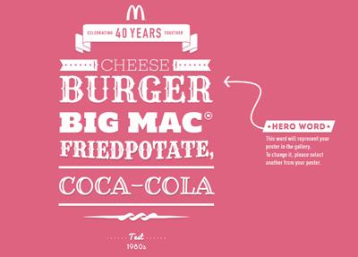 McDonald's 40th Anniversary