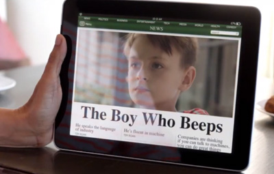 The Boy Who Beeps – GE Industrial Internet