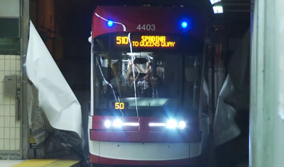 TTC launches new streetcar