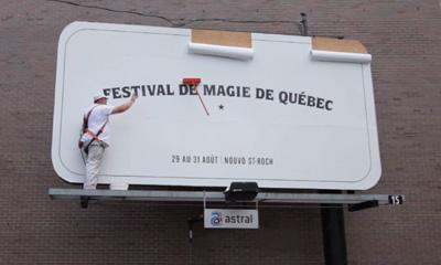 Festival de Magie de Québec - Le balai magique