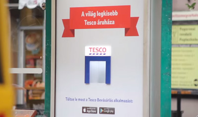 The World's smallest Tesco