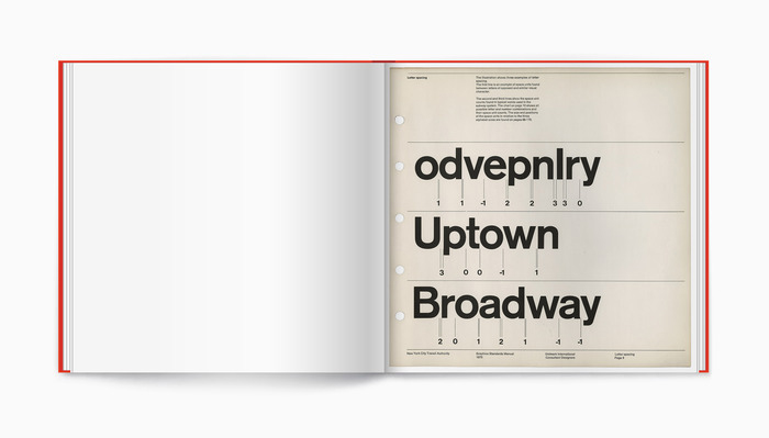 Full-size reissue of the NYCTA Graphics Standards Manual.