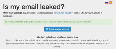 Is leaked?