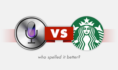 Siri vs. Starbucks