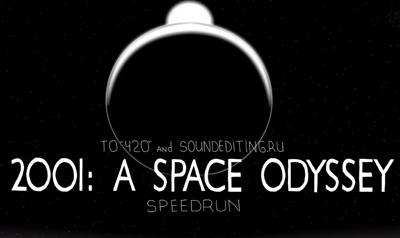 Speedrun: Space Odyssey 2001 in 60 seconds