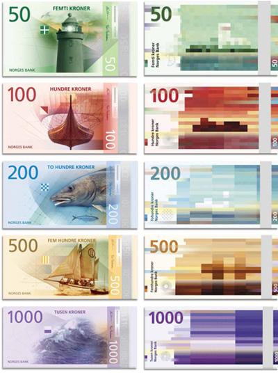 NORWAY NEW BANKNOTE SERIES