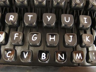 Sincerity Machine: The Comic Sans typewriter
