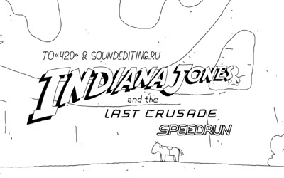 Speedrun: Indiana Jones and the Last Crusade