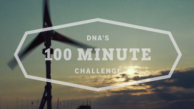 DNA's 100 minute challenge World Record